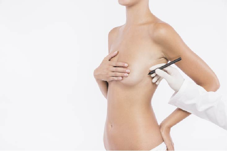 breast reduction recovery after the operation